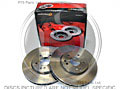 W220 S280-S500 1998-2005 Vented Front Disc (Pair)- 330mm Mintex